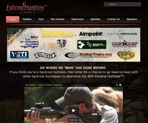 People and companies - Extreme Huntress Competition