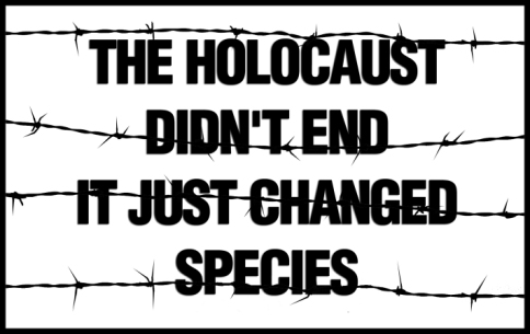 The Holocaust didn't end, it just changed species