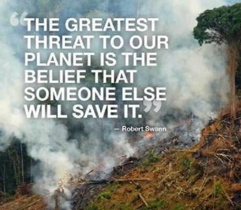 Message - Environment biggest threat