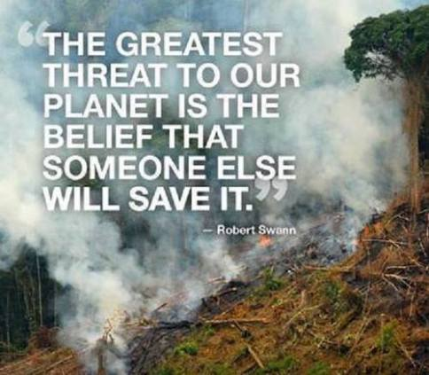Message - Environment biggest threat