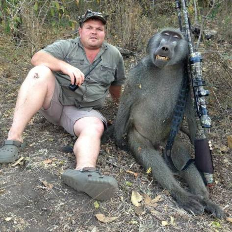 Trophy hunters - Monkey 02