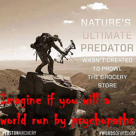 Trophy hunters - Ultimate predator propaganda