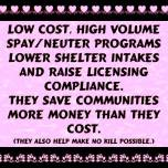 Cats and dogs - TNR saves more than costs