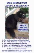 Cats - Black are pawsome