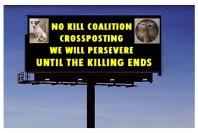 Homeless pets - Kill billboard