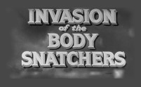 Homeless pets - Kill film posters - 03 Invasion of The Body Snatchers Black and White