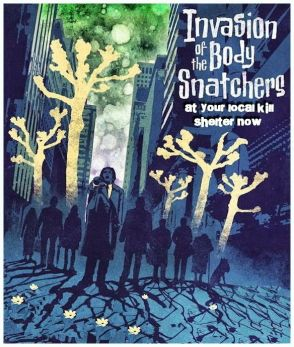 Homeless pets - Kill film posters - 08 Invasion of The Body Snatchers 1978 blue poster