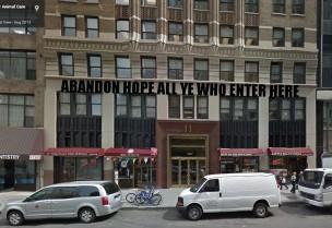 Homeless pets - NYC AC&C abandon hope