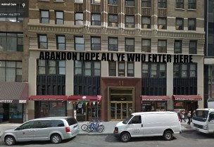Homeless pets - NYC AC&C abandon hope