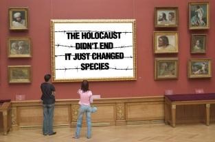 Message - Holocaust art gallery