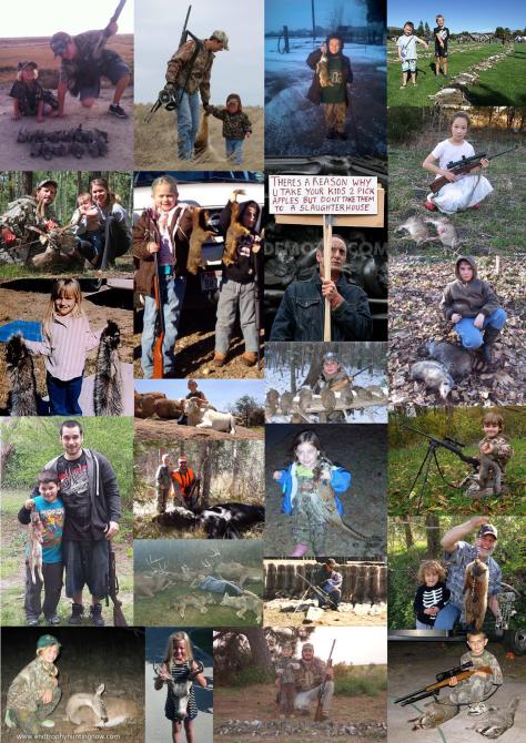 Trophy hunters - Children