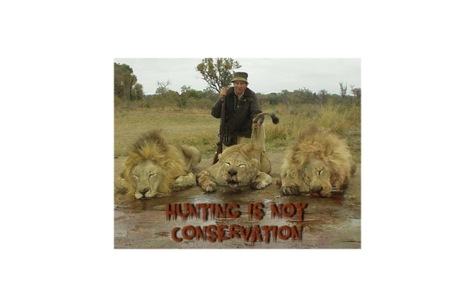 Hunting is NOT Conservation