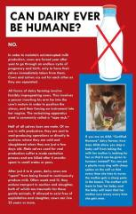 Factory farming - dairy can it be humane