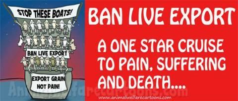 Factory farming - live export ban