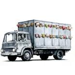 Factory farming - live export transport van
