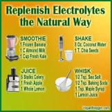 Message - Foods beneficial electrolytes