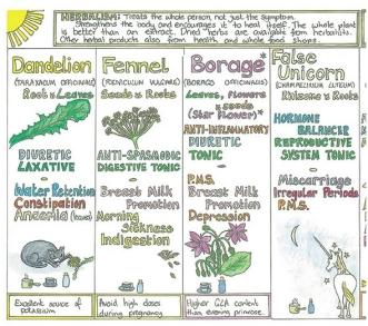 Message - Foods beneficial herbs