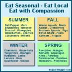 Message - Foods beneficial seasonal
