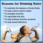 Message - Foods beneficial water