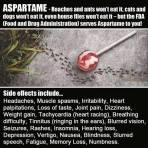 Message - Foods toxic aspartame 01