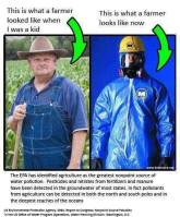 Message - GMOs farmer looks like now