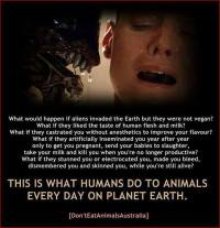 Vegan - aliens
