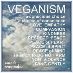 Vegan - conscious choice 1