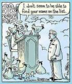 Vegan - truth reasons cartoon heaven KFC Col Sanders heaven