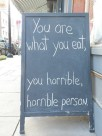 Vegan - truth reasons you are what you eat you horrible person