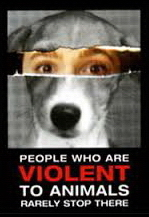 Animal abuse - Dog people who abuse animals