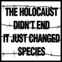 Animal abuse - Holocaust didn't end profile pic