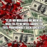 Animal abuse - Money is not sign of mental health