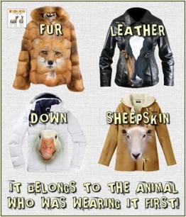 Fur and skin trade - Belongs to the animal wearing