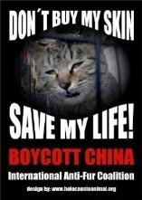 Fur and skin trade - Cat china