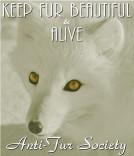 Fur and skin trade - Fur coat white fur alive