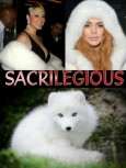 Fur and skin trade - Fur coat white sacriligious