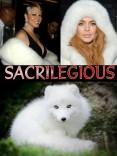 Fur and skin trade - Fur coat white sacriligious