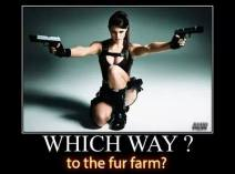 Fur and skin trade - Fur farms which way to the fur farm
