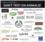Laboratory testing - Companies that don't test on animals 02