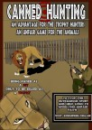 Lions - Poster for canned hunting 14