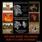 Lions - Poster for canned hunting 16