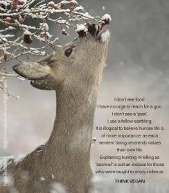 Trophy hunters - Deer no urge to reach for a gun
