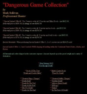 Trophy hunters - DVD Dangerous Game Collection