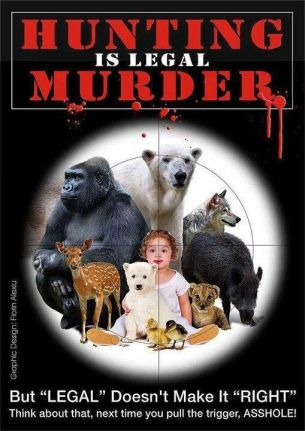 Trophy hunters - Hunting is legal murder