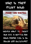 Trophy hunters - Lion