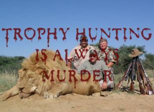 Trophy hunters - Murder