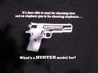 Trophy hunters - Revenge gun model