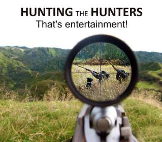 Trophy hunters - Revenge hunter becomes hunted that's entertainment