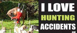 Trophy hunters - Revenge hunting accidents fox