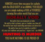 Trophy hunters - Revenge morally void 1 USE